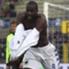 La gioia di Okaka tornato al goal a Bergamo