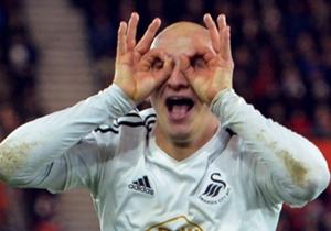 Jonjo Shelvey – Il n'en croit pas ses yeux, pourtant le milieu de terrain de Swansea, Jonjo Shelvey, a bien ouvert le score pour son équipe, sur la pelouse du Stade St Mary à Southampton. L'anglais a offert l'unique but de la rencontre à son équipe.