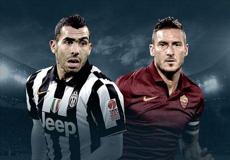 LIVE! Roma-Juventus Day, la diretta