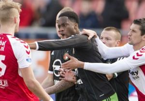 Terence Kongolo (Feyenoord) - 16 uitverdedigende acties, 49 succesvolle passes helft tegenstander