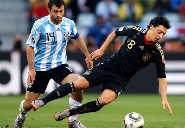 Javier Mascherano: Vergleich zwischen Maradona und Messi unnötig