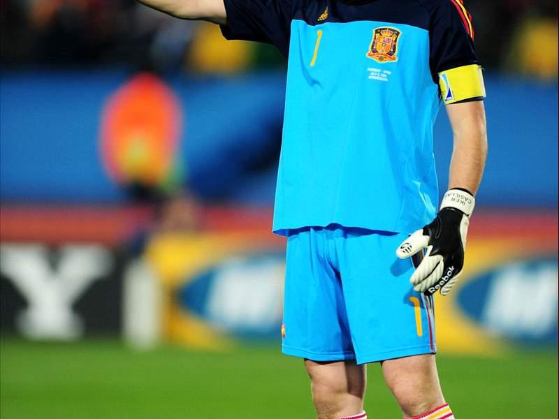 Mondial 2010 espagne paraguay deux gardiens au sommet - Resultat coupe du monde 2010 ...