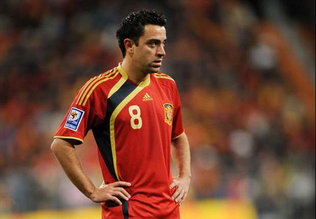 100 Caps For Xavi - The Heir To Raul's Crown Of Spain's Greatest Ever Player