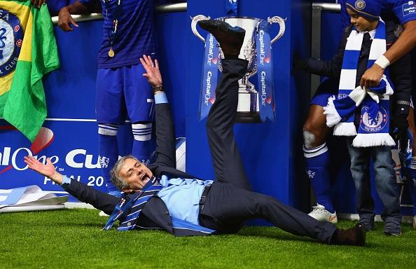 مورينيو: أنا الأفضل في إنجلترا! -