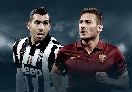 LIVE: Juve lässt Roma kommen
