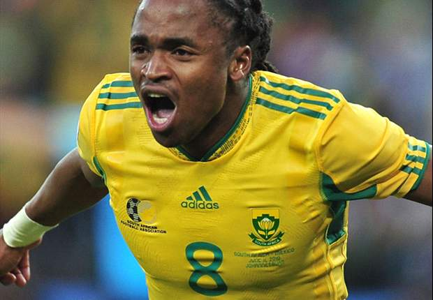 Everton eye move for £2.5m South African winger Siphiwe Tshabalala as replacement for Steven Pienaar