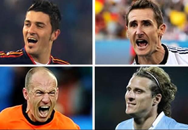SPESIAL: Susunan Pemain Terbaik Piala Dunia 2010 Pilihan GOAL.com Indonesia & Versi Pembaca?
