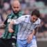 Simone Zaza in azione durante Sassuolo-Lazio
