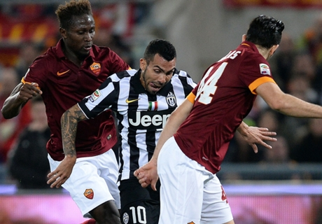 AS Roma Imbangi Juventus