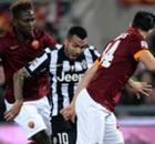 AS Roma Imbangi Juventus