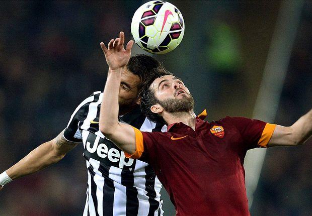 Roma 1-1 Juventus: Keita rescues point for 10-man Giallorossi