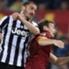 Roma-Juve, battaglia in campo