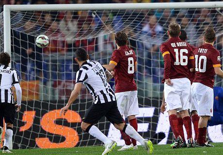 Juventus slaat laatste aanval Roma af