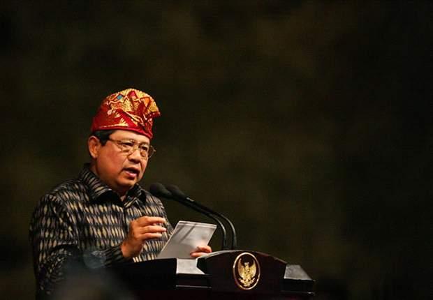 Presiden SBY Saksikan Langsung Laga Indonesia Vs Uruguay