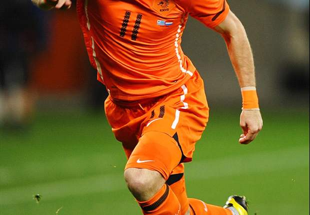 World Cup 2010: Netherlands Winger Arjen Robben Plays Down David Villa Threat