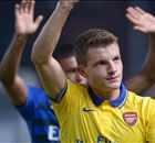 Eisfeld: Wenger is quiet in training