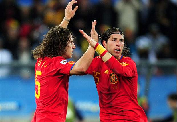 Spanish Defenders Dominate New 2010 World Cup Castrol Index