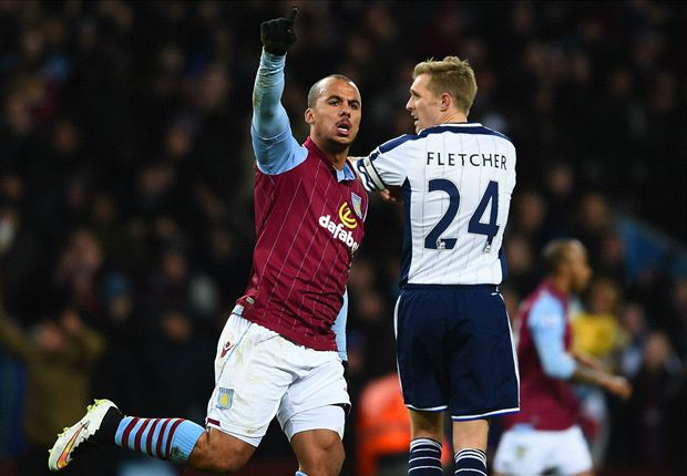 Aston Villa 2-1 West Brom: Benteke hands Sherwood first win with dramatic late penalty