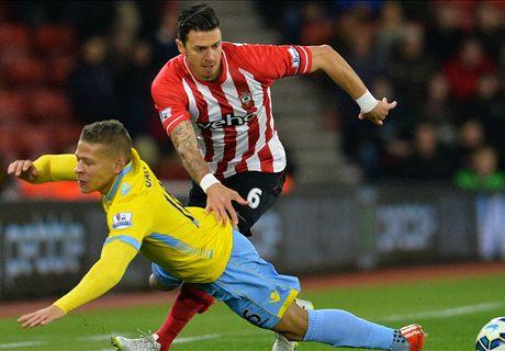 LIVE: Southampton 1-0 Crystal Palace