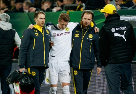 Klopp: I thought Reus had a broken leg