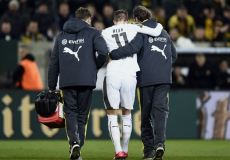Reus faces new injury scare