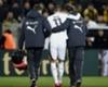 Borussia Dortmund's Marco Reus limps off