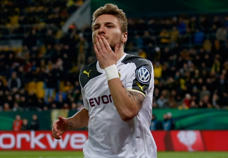Immobile double sends Dortmund through