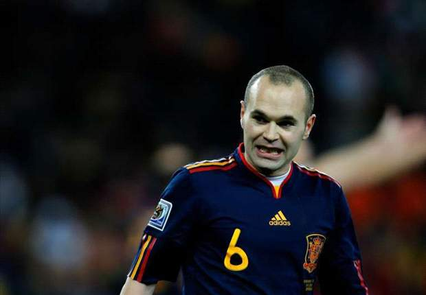 Goal.com World Player Of The Week: Andres Iniesta - Spain