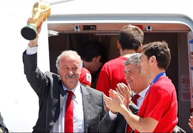 Spain Coach Vicente Del Bosque: We Merited Our Win Over Lithuania