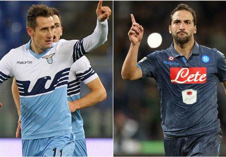Lazio-Napoli LIVE!