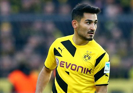 Transfer Talk: Man Utd eye Gundogan