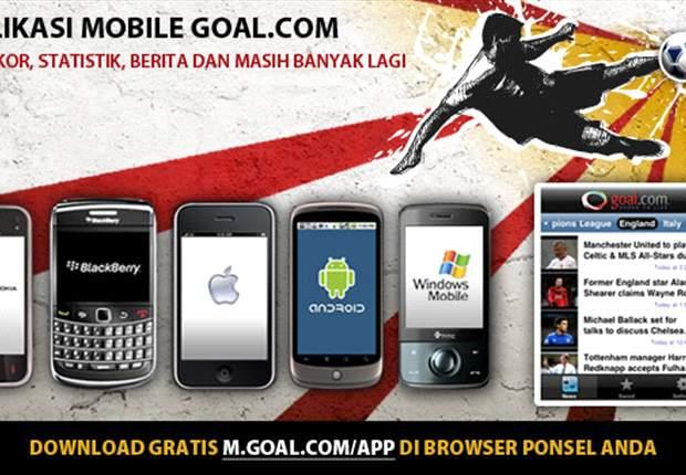 Aplikasi Mobile GOAL.com