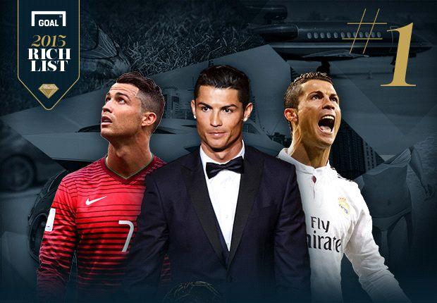 Cristiano Ronaldo, el futbolista más rico del mundo