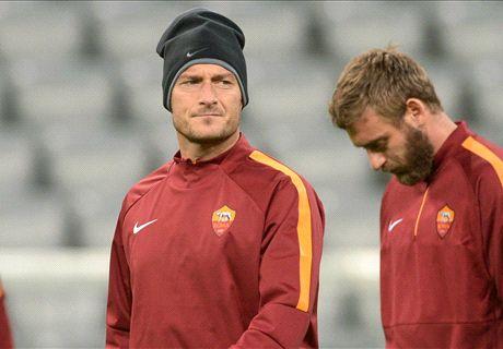 Totti e De Rossi: out dalla Roma del futuro