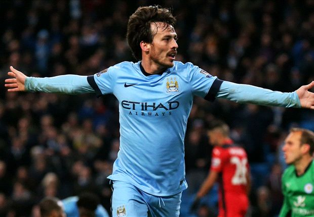 Manchester City 2-0 Leicester City: Silva & Milner secure crucial win
