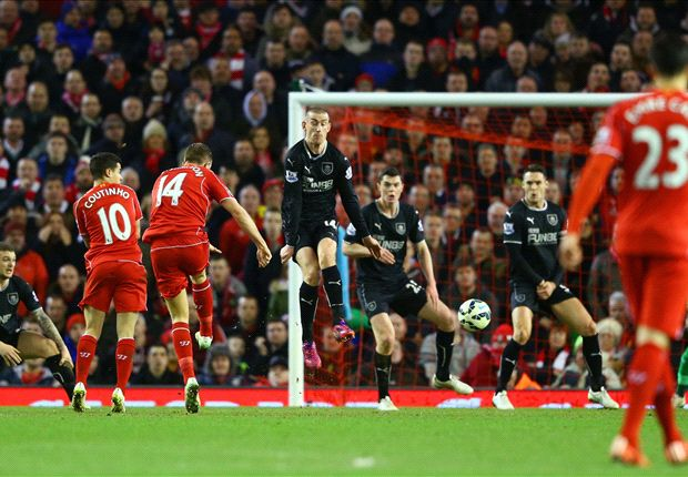 Liverpool 2-0 Burnley: Henderson & Sturridge strike for in-form Reds