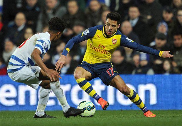 QPR 1-2 Arsenal: Alexis ends goal drought as Giroud strikes again