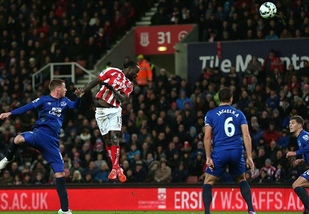 Victor Moses wins Stoke's goal of the month award
