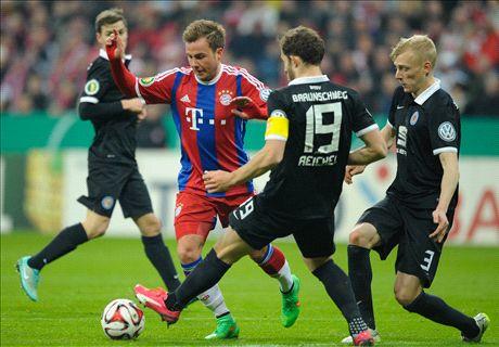 Bayern 2-0 Braunschweig
