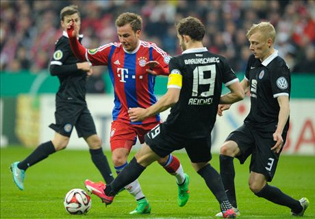 Match Report: Bayern 2-0 Braunschweig