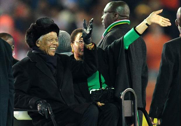 Mandela and football: A tribute