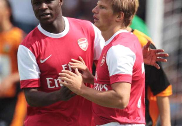 Andrey Arshavin pleased with Arsenal's pre-season form