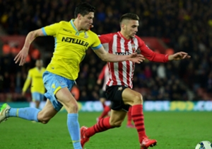 MARTIN KELLY | Southampton 1-0 Crystal Palace | Could not handle the speed of Sadio Mane, who eventually scored the winner for his side.