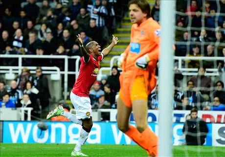 Late Young winner boosts Man Utd