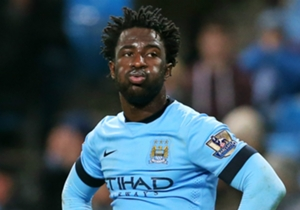 WILFRIED BONY | Manchester City 2-0 Leicester City | Missed a golden scoring chance from close range and was lucky not to see a penalty given against him.