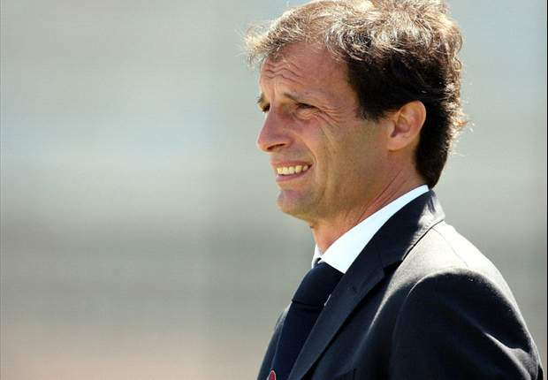Massimiliano Allegri happy with AC Milan being drawn against 'least tricky' Tottenham