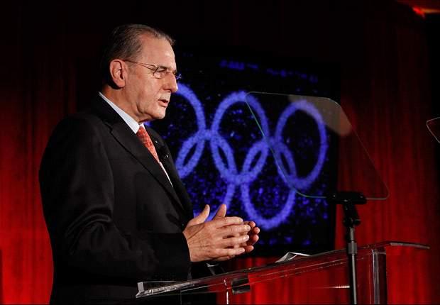 Wird IOC-Chef Jacques Rogge FIFA-Boss Sepp Blatter die Leviten lesen?