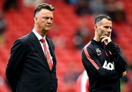 Giggs: No rift with 'great' Van Gaal