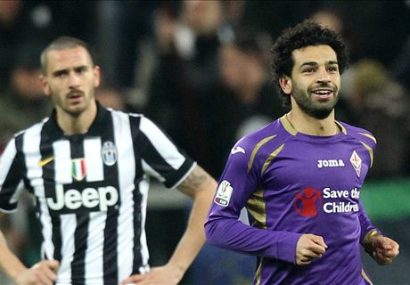 Juve-Fiorentina LIVE! 1-2, ancora Salah