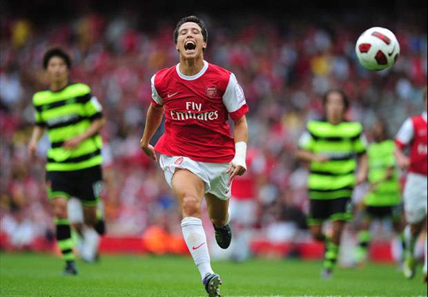 Arsenal and France midfielder Samir Nasri hungry for success with club and country